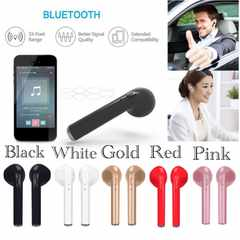 Bluetooth イヤホン ワイヤレス マイク 両耳USB 充電 ホワイト
