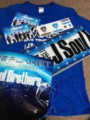 三代目JSBライブツアー2015BLUEPLANETシャツステッカータオル
