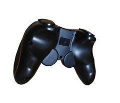 PS3対応 ワイヤレスコントローラー ブラック&オレンジb
