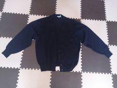 紺色のカーディガン 美品 ELROBLE Lサイズ