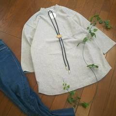 〇GLOBAL WORK〇ゆったりしっかり素材の長袖Tシャツ*・゜新品