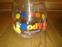Rody  ロディ グラス ノベルティ 未使用 ジュースなど入れて