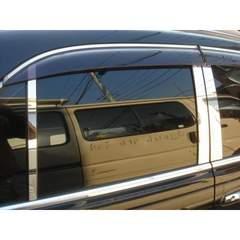 トヨタ 鏡面ステンレスピラーモール アリスト 16 160系 GS300