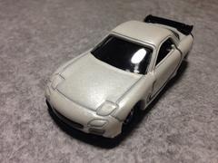 トミカマツダRX-7パール色