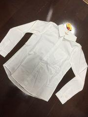 新品&即決.allamamda.シンプルな白シャツ/4,212円