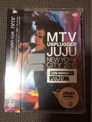 JUJU ☆ NEWYORKCITY 2012 ○ DVD新品未使用。