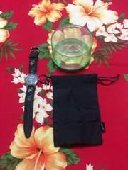 レスポートサック☆腕時計☆ブラック☆上品なお花刺繍☆