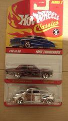 ホットホイール クラシックス ford2台セット フォードclassics