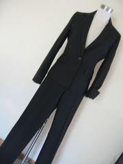 クリアインプレッション 黒パンツスーツ 2・1