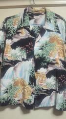 初期フラットヘッド 笹虎アロハシャツ
