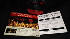 KICK THE CAN CREW/EXILE◆MTV THE SUPER DRY LIVE ORIGINAL CD