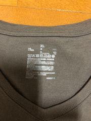 無印良品 チャコールグレー ロングTシャツ XL