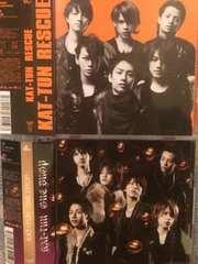 激安!超レア!☆KAT−TUN/ONE DROP、RESCUE☆初回盤/2CD+2DVD美品