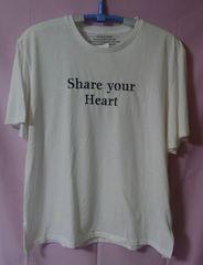 大きいサイズ☆4L☆英字柄Tシャツ☆刺繍☆袖フレアー☆