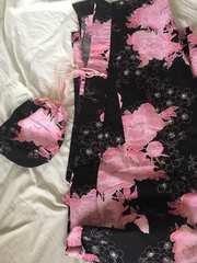 花柄 浴衣
