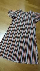大きいサイズ新品☆袖フリルマキシワンピ/〜LL位迄