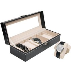 腕時計 6本入れ6本巻 腕時計 ケース 時計 収納 ケース