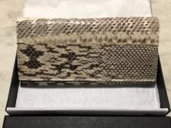 〓本皮蛇長財布〓