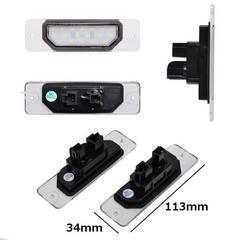 送料無料 日産車専用 汎用LEDナンバー灯 純正交換型 左右セット