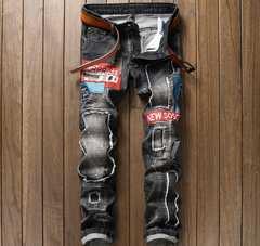 メンズジーンズ デニムパンツ   ストレート29〜w38 /AK637
