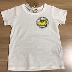 新品タグ付き110半袖Tシャツ ドクターイエロー�D