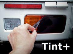 Tint+何度も貼れる ハイゼット トラック S500P/S510P テールランプ スモークフィルム