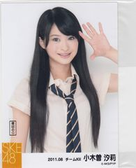 SKE48 パレオはエメラルド 衣装写真  制服ver. 小木曽汐莉