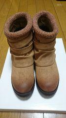 春ブーツSサイズ未使用