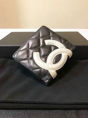 1円 ◆正規品◆ 超美品 シャネル カンボンライン 財布 ブラック