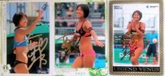 BBM11-13リアルヴィーナス 浅尾美和[ビーチバレー]・ホロ箔サインカードset/50
