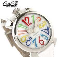 ユニセックス ガガミラノ GAGA MILANO 腕時計 マヌアーレ40MM