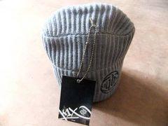 KIX バスケット ワッチ 帽子 ヒップホップ  灰 グレー