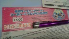 東京ディズニーランド★シー☆パスポートチケット1000円クーポン