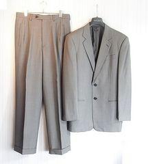 size48☆良品☆アルマーニクラシコ Super150's製2釦スーツ