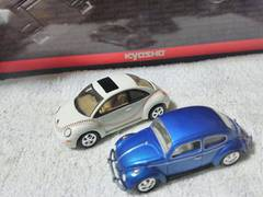 ジョニーライトニング  VWビートル1300 タイプ1  ニュービートル     トミカサイズ