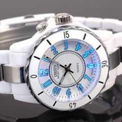 輸入時計♪7色LEDのユニセックス腕時計OHSEN