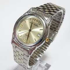 ALICE ALISSA デイトクォーツ メンズ腕時計
