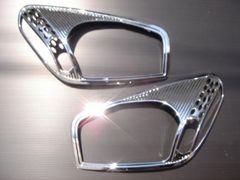 クロームメッキヘッドライトリング RAV4 2#系