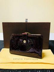 1円 ◆正規品◆ 極美品 ルイヴィトン ヴェルニアマラント 財布