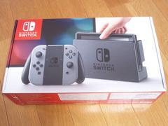任天堂スイッチ昨日新品購入新品未使用破格出品★グレーCOLOR