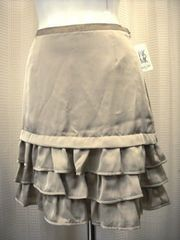 【ミッシェルクラン】【未使用品】フリル付ミニスカート
