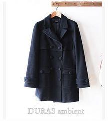 DURAS*きれいシルエットのウールコート♪ デュラス