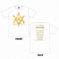 即決 EXILE LIVE TOUR AMAZING WORLD ツアーTシャツ ホワイト S