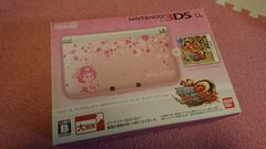 Nintendo3DSLLワンピースコラボチョッパーピンクverセット中古