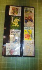 マレーシア動植物切手8種類♪