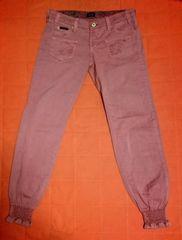 本物未使用ドルチェ&ガッバーナD&G裾絞りロゴ刺繍美脚パンツ