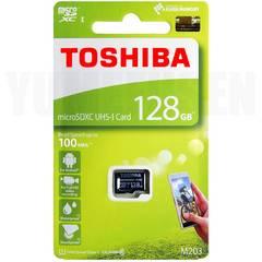 超速100MB/s 東芝 128GB microSDXC マイクロSD Class10 クラス10 UHS-I
