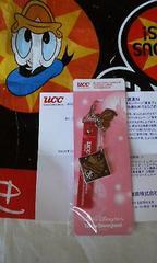 携帯ストラップ UCCオリジナル 東京ディズニーリゾート