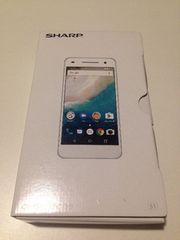 送料無料 SHARP シャープ Android one ワイモバイル ブラック S1