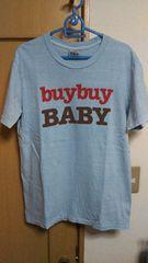 TMT BUYBUY  BABY  Tシャツ  サックスブルー  Lサイズ  美品